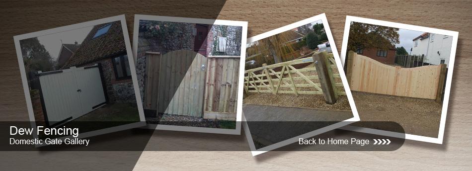 Dew Fencing Domestic Gates Gallery, Image